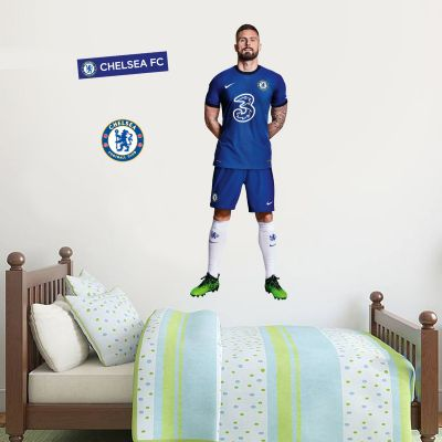 Chelsea FC - Giroud 20/21 Player Decal + CFC Wall Sticker Set