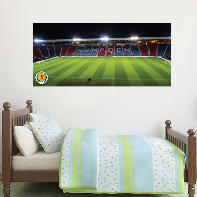 Scotland National Team - Hampden Park Stadium Wall Sticker + Decal Set