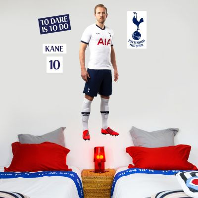Tottenham Hotspur Football Club - Harry Kane Player Wall Mural + Spurs Wall Sticker Set