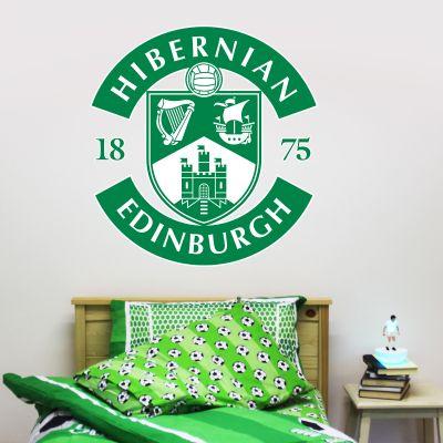 Hibernian F.C. Crest Wall Sticker