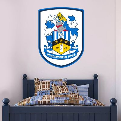 Huddersfield Town Football Club - Crest + Terriers Wall Sticker Set
