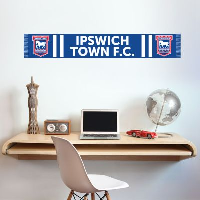 Ipswich Town F.C. - Bar Scarf Wall Sticker