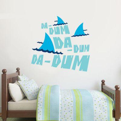 Jaws Wall Sticker - Da Dum