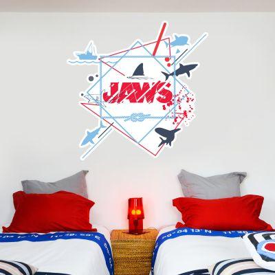 Jaws Wall Sticker - Splatter Graphic