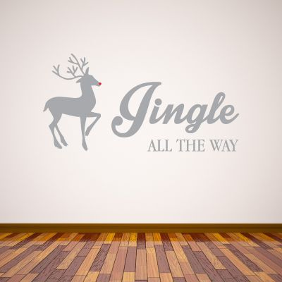 Jingle All The Way Wall Sticker