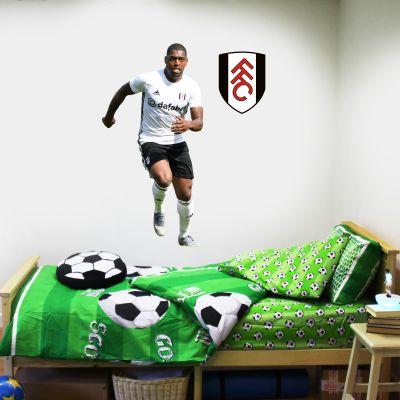 Fulham F.C. - Aboubakar Kamara Player Wall Sticker + Bonus Fulham Crest Decal