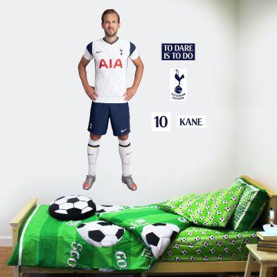 Tottenham Hotspur Football Club - Harry Kane 20/21 Player Wall Mural + Spurs Wall Sticker Set
