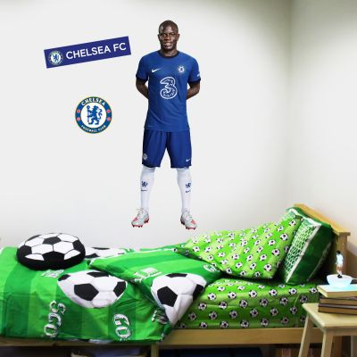 Chelsea FC - Kante 20/21 Player Decal + CFC Wall Sticker Set