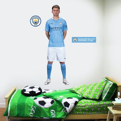 Manchester City FC - Aymeric Laporte 20/21 Player Decal + Wall Sticker Set