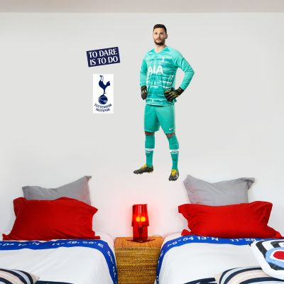 Tottenham Hotspur Football Club - Hugo Lloris Player Wall Mural + Spurs Wall Sticker Set