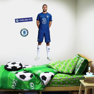 Chelsea FC - Loftus Cheek 20/21 Player Decal + CFC Wall Sticker Set