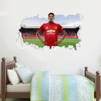 Manchester United F.C. - Anthony Martial 20/21 Broken Wall Sticker
