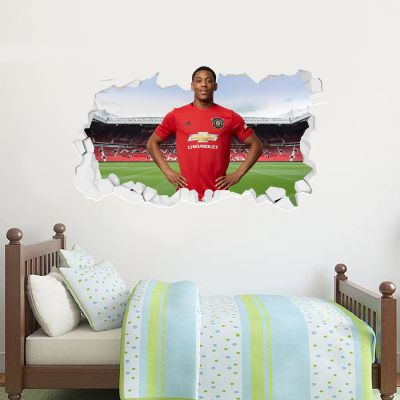 Manchester United F.C. - Anthony Martial Broken Wall Sticker
