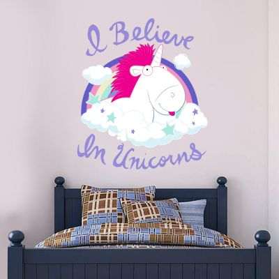 Despicable Me - I Believe In Unicorns Wall Sticker