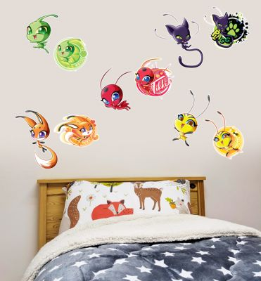 Miraculous - Kwamis Wall Sticker Set