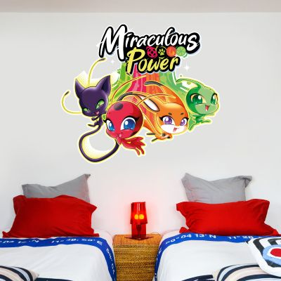 Miraculous - Power Kwamis Wall Sticker