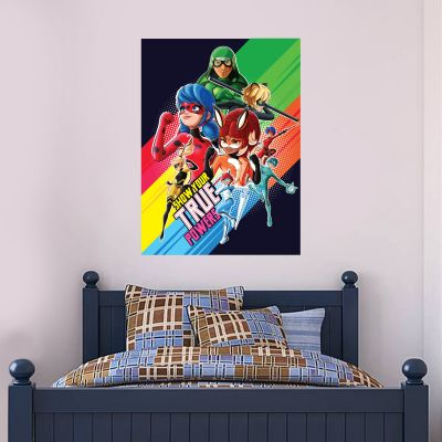 Miraculous - Show Your True Powers Poster Wall Sticker