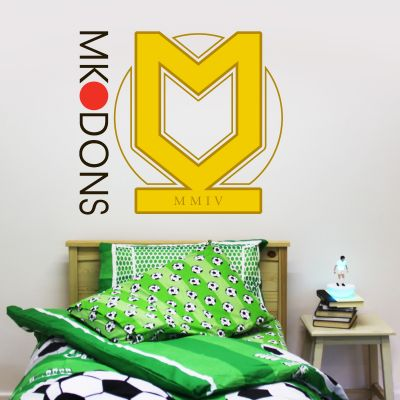 MK Dons - Crest Mural