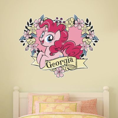 My Little Pony - Fairy Forest Flower Heart Personalised Wall Sticker