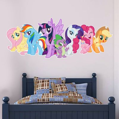 My Little Pony - Group Wall Sticker