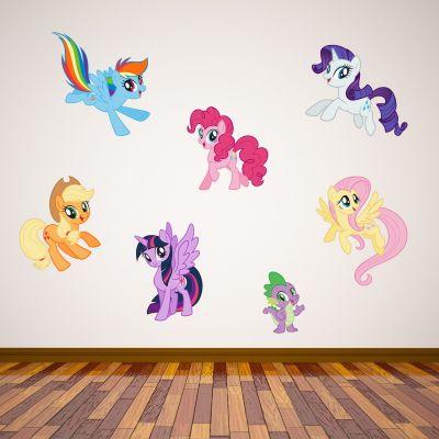 My Little Pony - Pony Wall Sticker Set