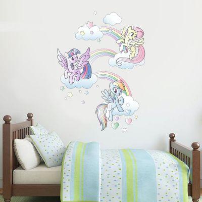 My Little Pony - Rainbow Clouds Wall Sticker