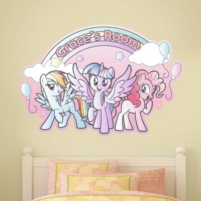 My Little Pony - Rainbow Personalised Wall Sticker