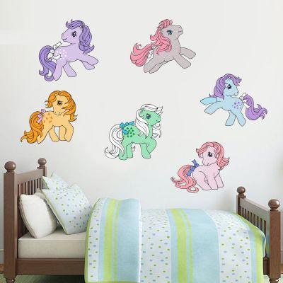 My Little Pony - Retro Pony Wall Sticker Set