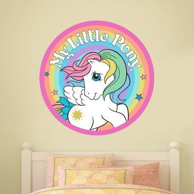 My Little Pony - Retro Rainbow Circle Wall Sticker