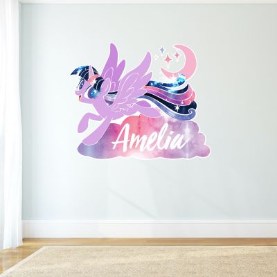 My Little Pony - Twilight Sparkle Personalised Wall Sticker