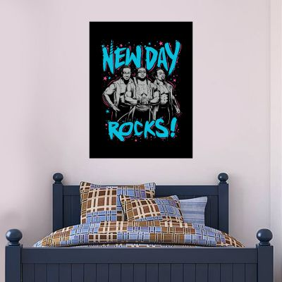 WWE - New Day Rocks Wall Sticker