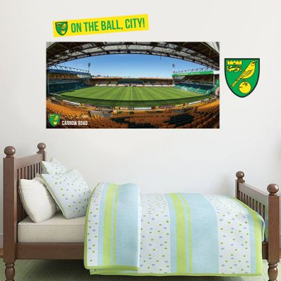 Norwich City FC - Carrow Road Stadium Wall Sticker