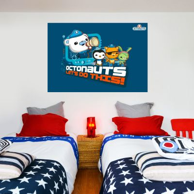 "Octonauts ""Lets Do This"" Wall Sticker Mural"