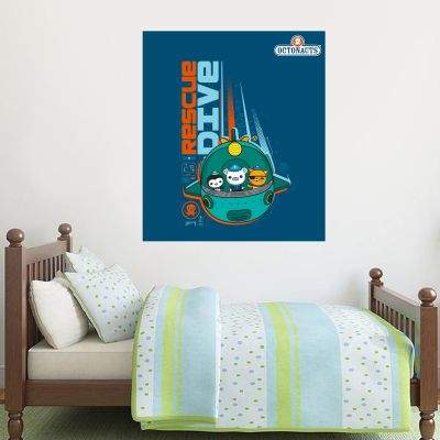 Octonauts Rescue Dive Wall Sticker Mural