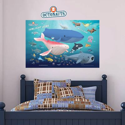 Octonauts Sunlight Zone Wall Sticker Mural