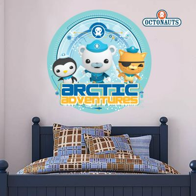 Octonauts Arctic Adventures Wall Sticker Mural