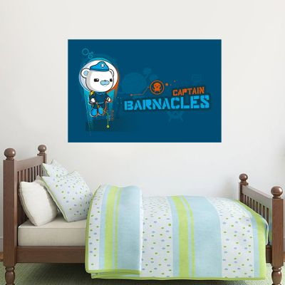 Octonauts Captain Barnacles Bear Diving Wall Sticker Mural