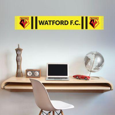 Watford FC - Bar Scarf Wall Sticker