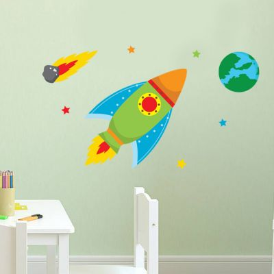 Space Wall Sticker Set