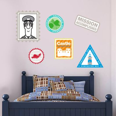 Postman Pat - Stamp Wall Sticker Set