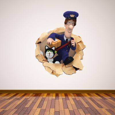 Postman Pat - Paper Broken Wall Sticker