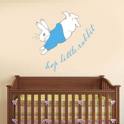 Peter Rabbit Hop Little Rabbit Wall Sticker Mural