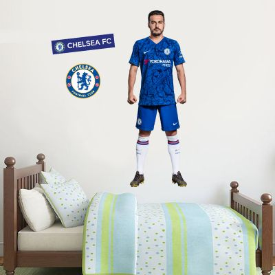 Chelsea FC - Pedro Player Decal + CFC Wall Sticker Set