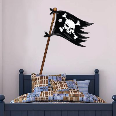 Pirate Wall Sticker Pirate Flag
