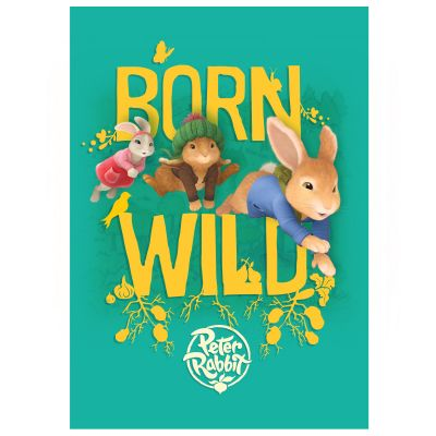 Peter Rabbit Born Wild Wall Sticker Mural