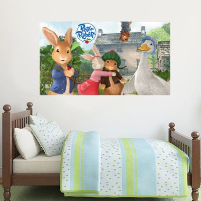 Peter Rabbit and Friends Hill Top Farm Wall Sticker Mural