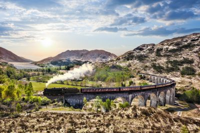Glenfinnan Viaduct, Scotland Wall Mural