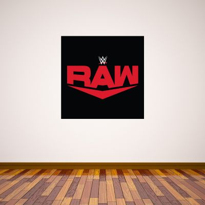 WWE Raw Logo Wall Sticker