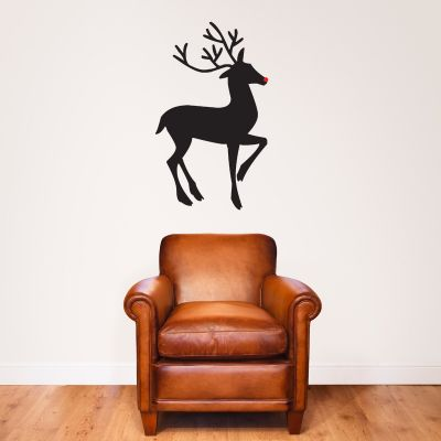 Rudolf Silhouette Wall Sticker