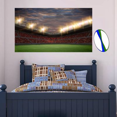 Rugby Stadium Wall Sticker